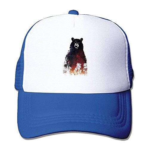 Preisvergleich Produktbild WefyLtesnhd Cap Hat Nightbear Roald Dahl Funny Prize Warm Novel Mesh Trucker Caps / Hats Adjustable for Unisex Black
