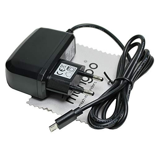 Ladegerät passend für ACEPAD A96, A101, A121, A140, Tablet Micro-USB Ladekabel Kabel Netzladegerät 2A OTB mit mungoo Displayputztuch