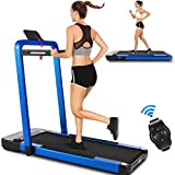 ANCHEER Treadmill,2 in 1 Folding Treadmill for Home, Under Desk Electric Treadmill, Foldable Running...