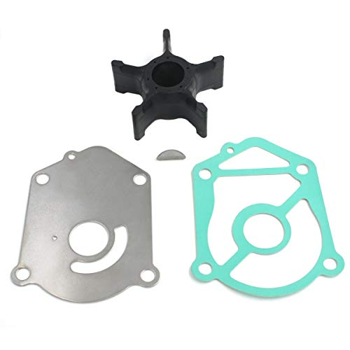 Wingogo 17400-94602 Water Pump Impeller Repair Kit for Suzuki Outboards 115/140 HP 2-Stroke DT115 DT140 Boat Motor Parts Replacement Sierra 18-3257 17400-94610 17400-94611