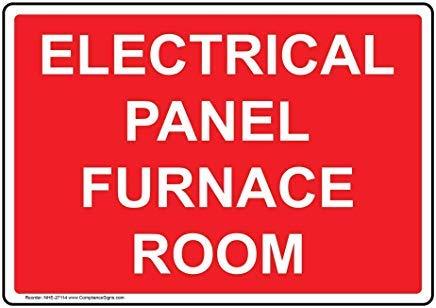 wendana elektrisch paneel oven kamer teken,Grappige Wanring tekens,Gate Sign,Vandaar Yard Sign,8