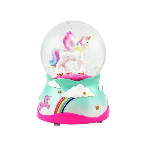 UnicornMusical Snow globe - 80 MM 2