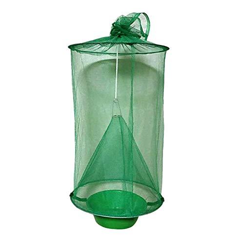 Poitwo Flycatcher Top Catcher Niet giftig Vouwen Ranch Vliegtuig Trap Niet giftig Opknoping Catcher Cage Traps