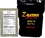 MRE Z-Ration (Zombie MRE) Custom Meals Ready to Eat! (MENU H - Beef Taco)