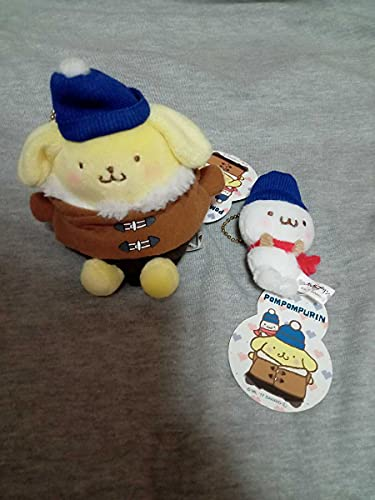 ポムポムプリン ポムポムプリンカフェ おそろい帽子マスコット プリンとマフィンセット