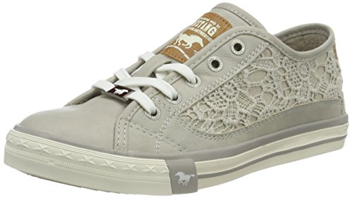 MUSTANG Damen 1146-303 Sneaker, Grau (22 Hellgrau), 39 EU