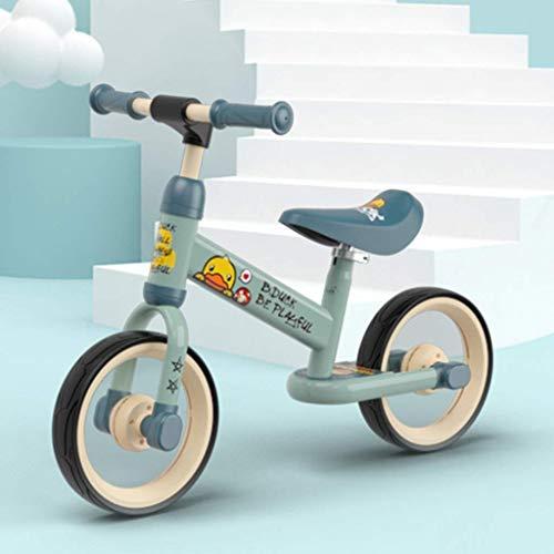 10 Zoll Balance Kids Bike Carbon Stahlrahmen ohne Pedal Walking Leichtes Strider Bike Trainingsrad für Kinder und Kleinkinder Baby Jungen und Mädchen im Alter von 3-6 Jahren (Farbe: Rot, Größe: 10 Zo