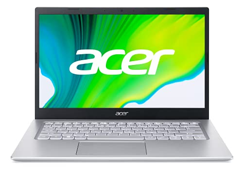 """Acer Aspire 5 Intel Core i3 11th Generation 14-inch (35.56 cms) Thin and Light Laptop - (4 GB/256 GB SSD/Windows 10 Home/Intel UHD Graphics /1.55Kg/Silver) A514-54, 14.1"""""""