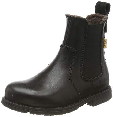 Bisgaard Mädchen Fulla Chelsea Boots, Schwarz (Black 204), 24 EU