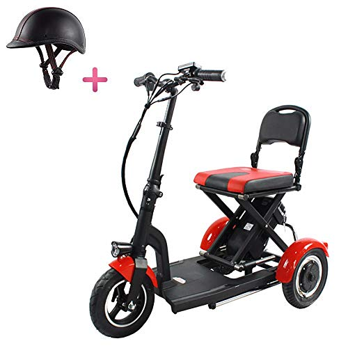 clasificación y comparación Scooter eléctrico MrCar / scooter eléctrico de tres ruedas / triciclo para personas mayores con discapacidad … para casa