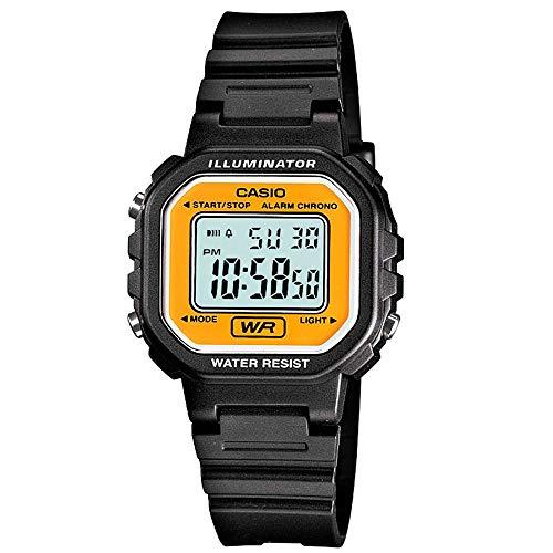 Casio LA-20WH-9A - Reloj (Reloj de pulsera, Resina, Negro, Resina, Negro, Resina)