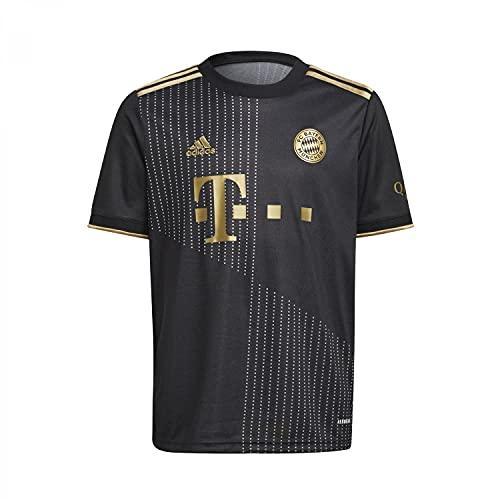 adidas Jungen FCB A JSY Y, Schwarz, 140