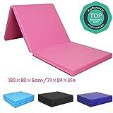 CCLIFE 180x60x5cm Tapis de Gymnastique Epais - Matelas Gymnastique - Tapis Sol...