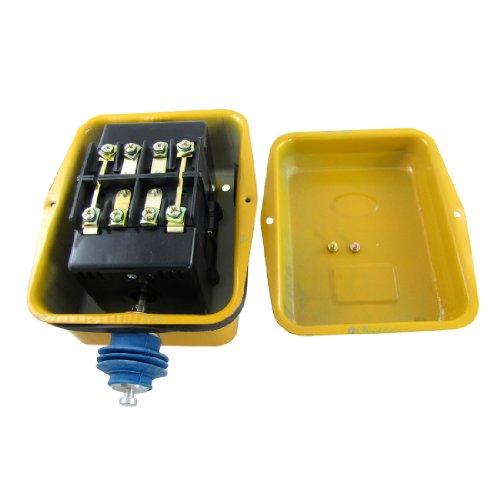 Aexit AC 380V 40A Interruptor de límite de tipo de impulso momentáneo 4PST 4NC LX101-40A (5e0be2dc4e9d040aa518a9a83e899198)