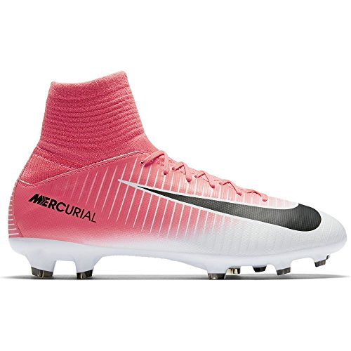 Nike Jr. Mercurial Superfly V FG - Bolso bandolera, color rosa