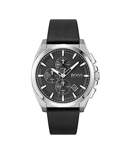Hugo Boss Reloj analógico para Hombre de Cuarzo con Correa en Cuero 1513881