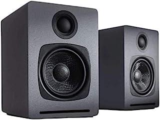Audioengine System głośników A1   aptX Bluetooth głośnik stereo   głośnik regałowy para, głośnik biurkowy   kabel i bezprz...