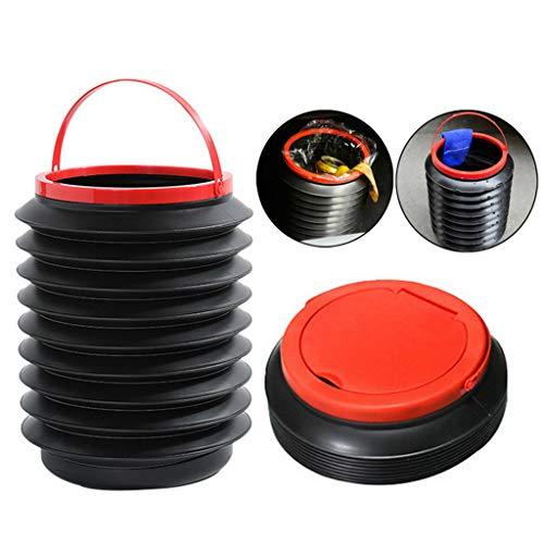 A&DW Einziehbarer Autowaschbehälter, Tragbarer 4-Liter-Wasserbehälter, Wasserfischereimer Eimer Campingcontainer Für Den Außenbereich Aufbewahrungsbox Für Plastikeimer,2 PCS