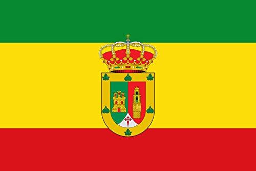 magFlags Bandera Large Almoharín, Cáceres, España | Bandera Paisaje | 1.35m² | 90x150cm