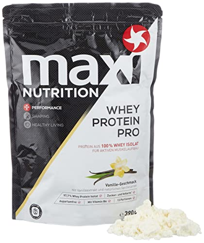 MaxiNutrition Whey Protein Isolate - Vanille, 1 x 390 g