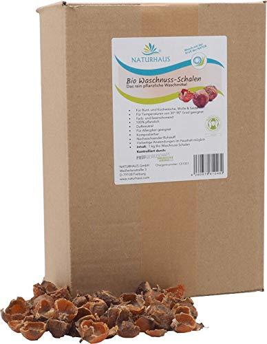 NATURHAUS Bio Waschnuss Schalen im Umkarton 1 kg