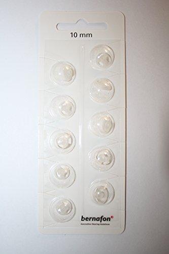 Schirmchen Domes für Bernafon/ Oticon Nano Ex-Hörer Hörgeräte Open Dome 10mm