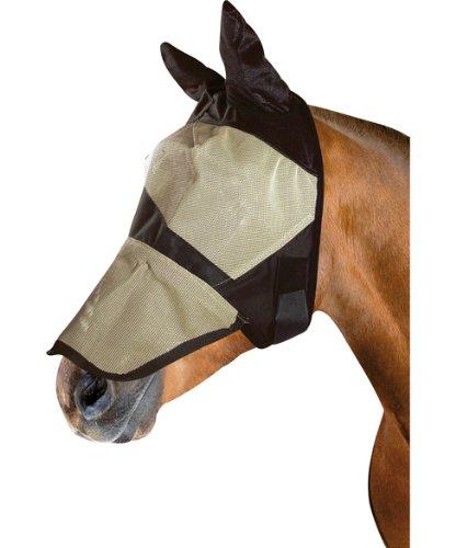 Pfiff 005119 Gesichtsmaske Weide, Fliegenschutzmaske Insektenschutzmaske, Pferde