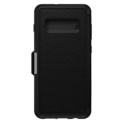 OtterBox Strada Etui Folio en Cuir véritable pour Samsung S10 Plus Noir