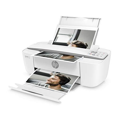 HP DeskJet 3750 Multifunktionsdrucker (Drucken, Scannen, Kopieren, WLAN, Airprint, mit 2 Probemonaten HP Instant Ink Inklusive) grau