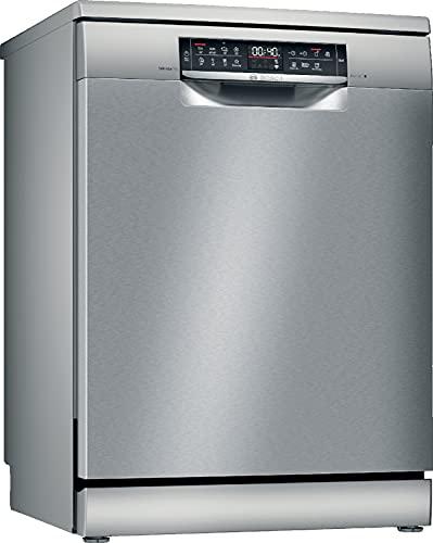 Bosch Elettrodomestici SMS6EDI63E Serie 6, Lavastoviglie da libero posizionamento, 60 cm, color inox