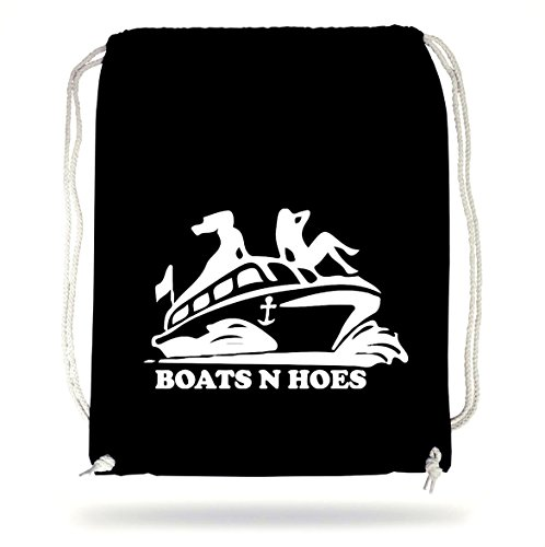 Certified Freak Boats and Hoes Gymsack Black