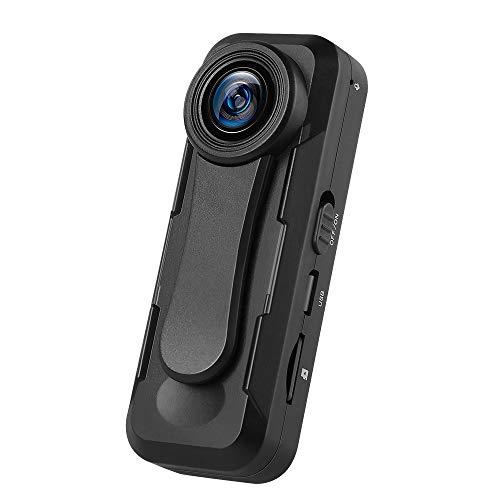 BOBLOV W1 1080P Mini-Kamera auf Kamerakörper mit Schleife, zur Aufnahme von Zeitstempeln