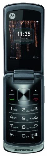 Motorola Gleam Handy (Ohne Branding, 6,1 cm (2,4 Zoll) Bildschirm, TFT, 2 Megapixel Kamera) schwarz