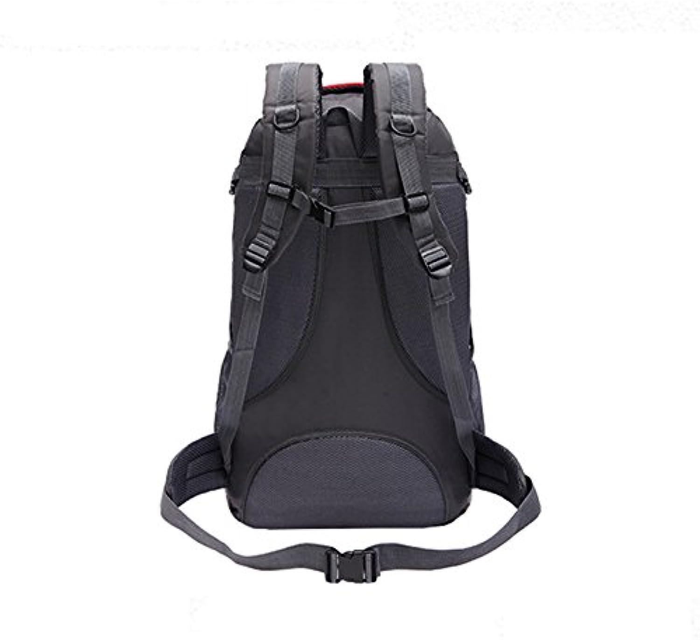 Robuster Rucksack- Multi-funktionale Rucksack Outdoor-Sport-Rucksack Wasserdicht Wandern Paket High-Capacity Bergsteigen Taschen Camping Taschen -Mehrfarbig optional