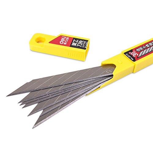 Deli SK5 30° 10 Klingen, 9mm - für Folierer- Grafikmesser/Folienmesser/Car wrapping knife, Cuttermesser