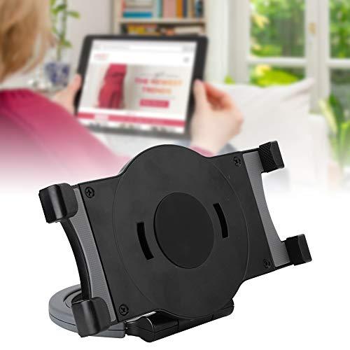 Aoca Soporte para Tableta, de 7 a 10 Pulgadas Soporte Universal de Silicona Estable para Tableta con Soporte para PC para teléfono Inteligente(Black)