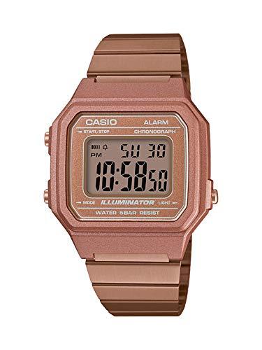 Relógio Feminino Casio Vintage Digital B650WC-5ADF - Rose