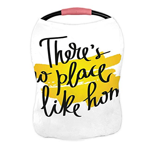 Why Choose ABPHQTO Proverb There is No Place Like Home Nursing Cover Baby Breastfeeding Infant Feedi...