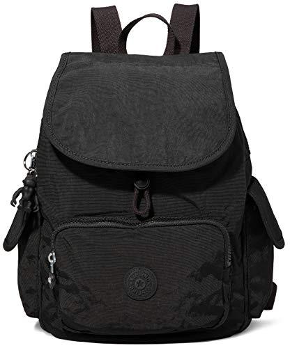 Kipling City Pack S, Backpacks Donna, Nero Noir, 19x27x33.5 cm