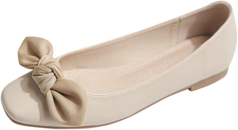 2019 Frühjahr Neue Abendschuhe vielseitige Flache Flache Schuhe Fee mit Rock einzelne Schuhe Damenschuhe  modisch
