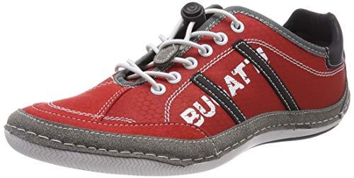 bugatti Herren 321480066954 Sneaker, Rot, 40 EU
