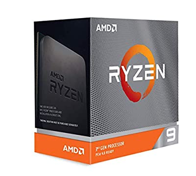 AMD Ryzen™ 9 3900XT Processor (12C/24T, 70MB Cache, Up to 4.7 GHz Max Boost) – Without Cooler