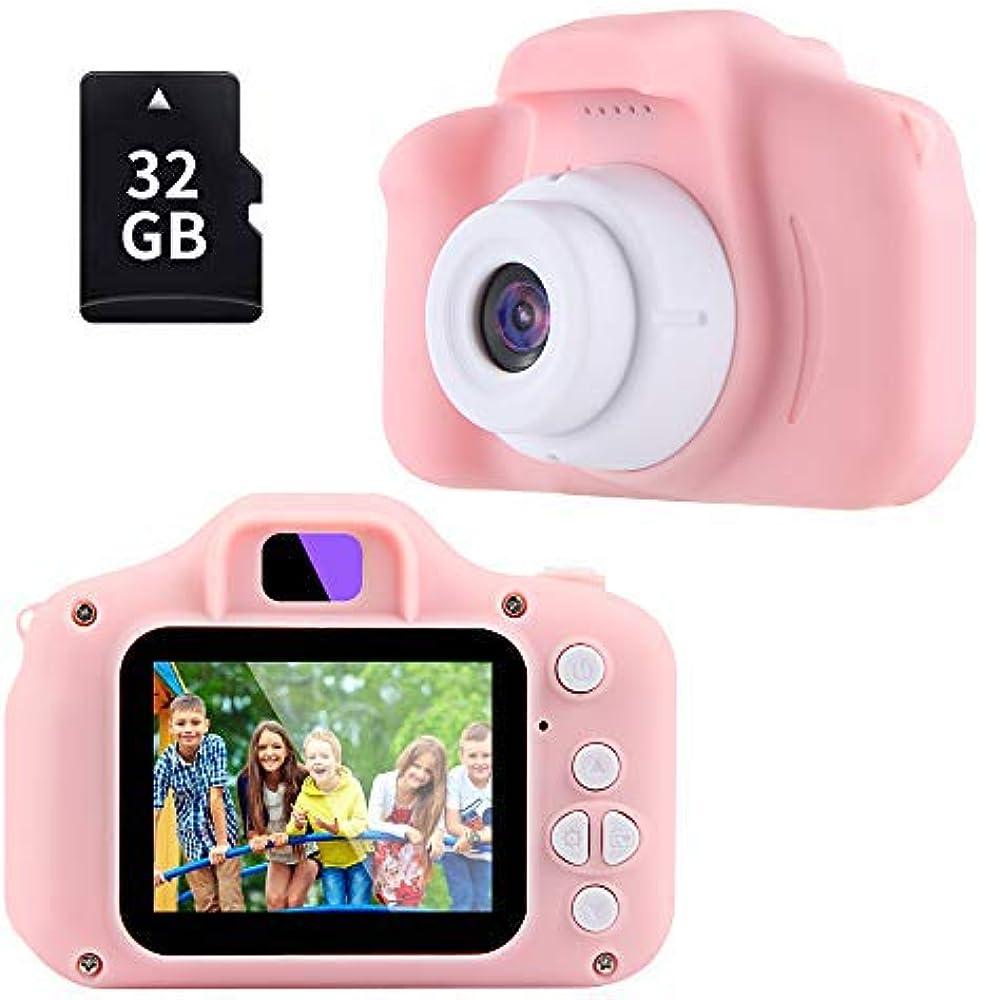Tekhome nuova macchina fotografica fotocamera digitale bambini con 32gb scheda sd & cordoncino C6