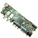 T.S512.69 QT526C Digital Television Scheda Madre con Telecomando Supporto Segnale Digitale DVB-T2 DVB-S2 DVB-C Driver Board booster modulo di protezione della batteria Supporto DVB-T2 DVB-S2 DVB-C con