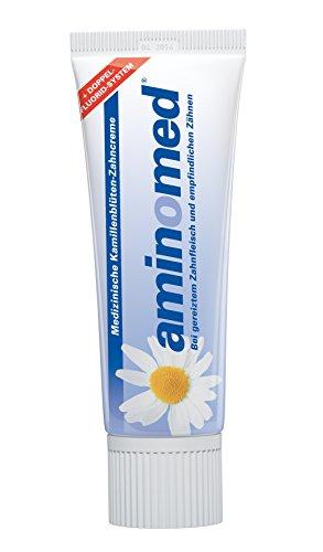 Aminomed Fluorid-Kamillen-Zahncreme,  1er Pack (1 x 75 ml)
