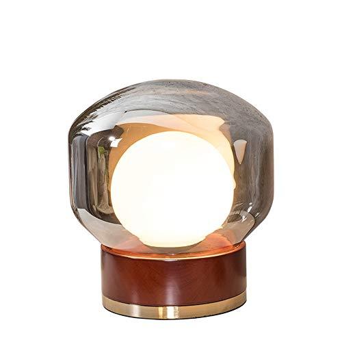 Lámparas de mesa DKEE Lámpara De Mesa De Cristal LED/Lámpara De Mesita De Noche Decorativa De Salón/Dormitorio De La Personalidad Creativa