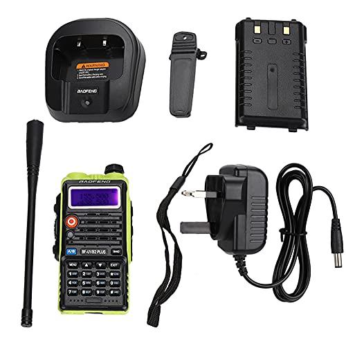 JICWNEW Walkie Talkie bidireccional inalámbrico de la radio VHF con la batería de la ión de litio