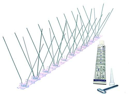 Bird-Tech TM 3MT Pinchos AntiPalomas Fabricados en Acero Inoxidable Y PC Anti...