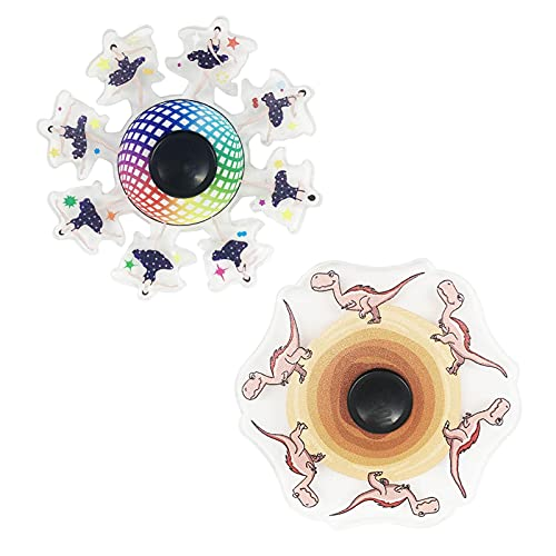 BNNEW Running FID-Get Hand Spinner Relief Stress Toy, Dynamic Fingertip Spinning Top Toy for Autism Add ADHD Stress Reliever Ansiedad Anti Depression Toy Party Favors for Kids Adult