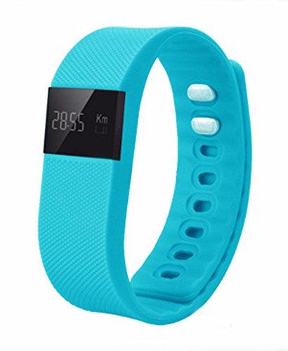 itecosky tw64Wasserdicht Bluetooth4.0Activity Tracker Sport Armband Smart Armband Sport Fitness Tracker Schrittzähler Smart Band für iOS iPhone Apple Android Samsung Xiaomi etc.